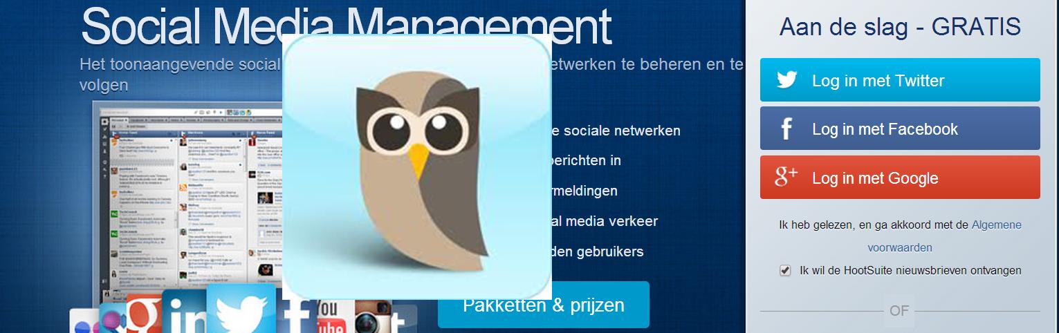 Tijd besparen met Social Media Hulprogramma