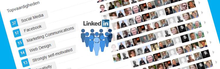 Vaardigheden onderschrijven op LinkedIn