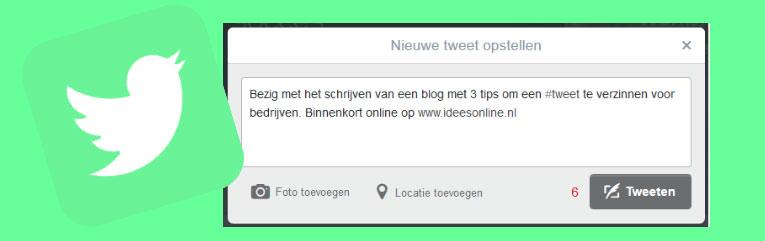 3 tips voor het bedenken van een tweet