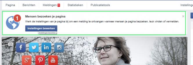 Inzicht in bezoekers van je Facebook-pagina