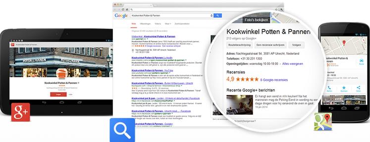 Vraag nu je Google Bedrijfsvermelding aan!