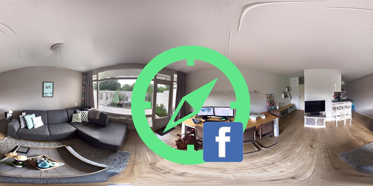 Zo plaats je een 360 graden foto op Facebook!