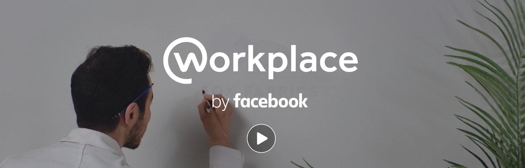 Workplace, Facebook voor op het werk