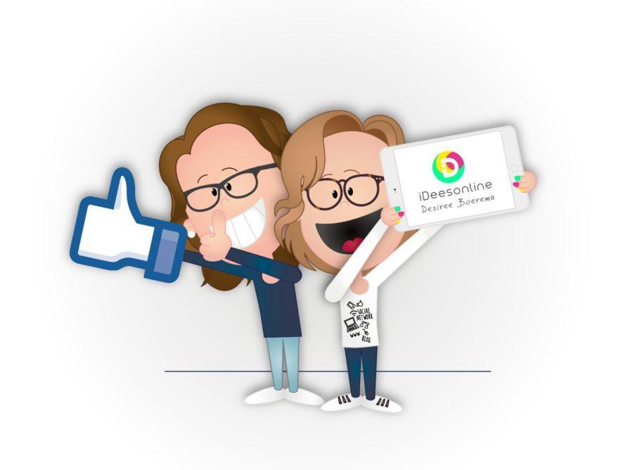 Nieuw logo iDees online