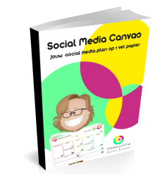 social media canvas idees online social media plan
