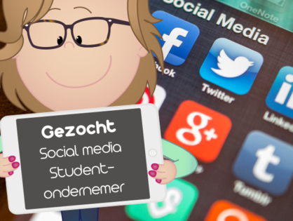 Vacature Social Media Student-ondernemer