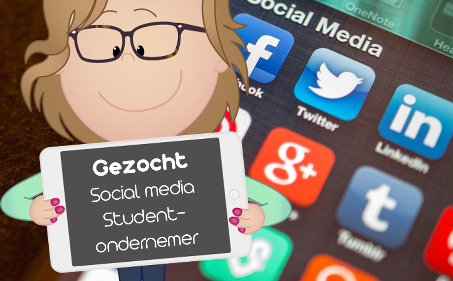 Vacature Social Media Student-ondernemer
