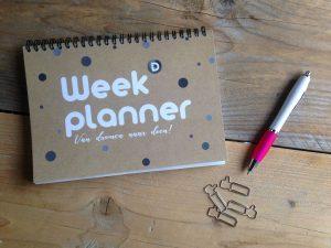 Weekplanner Van dromen naar doen 1