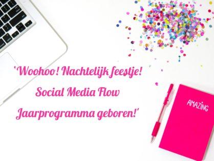 Social Media Flow Jaarprogramma geboren