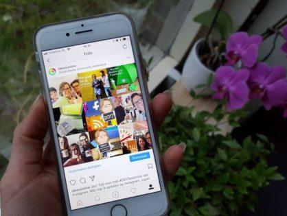 Zo maak en deel jij je 'best nine 2017' op Instagram