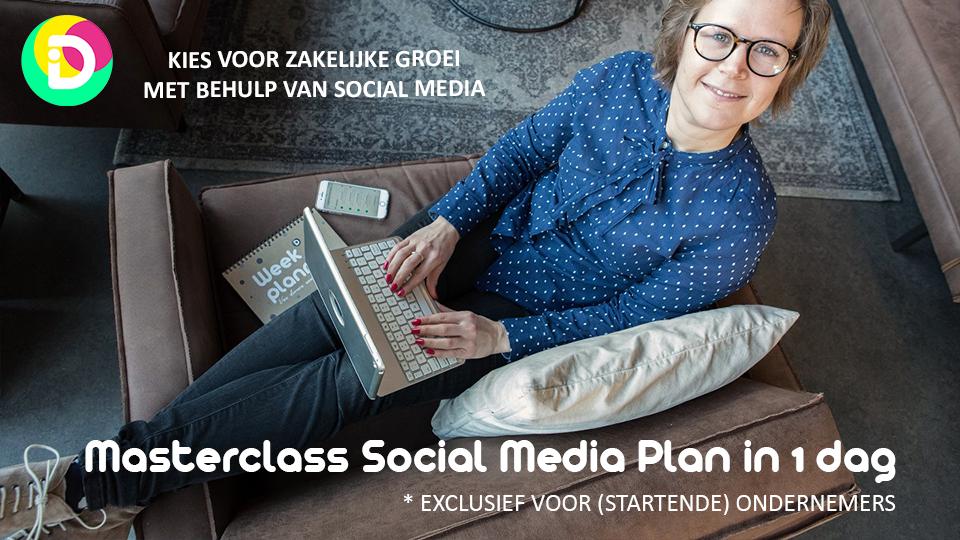 15 januari - Masterclass Jouw Social Media Plan op 1 A4