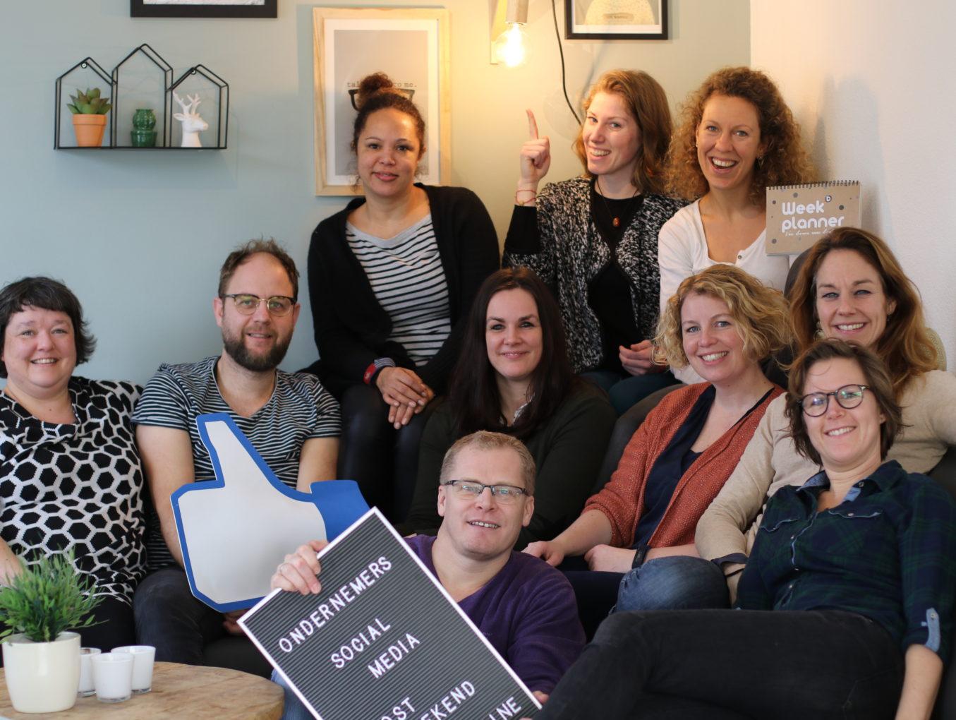 Social Media Boost weekend voor (startende) ondernemers
