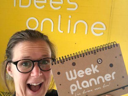 Weekplanner 2.0 in de maak!