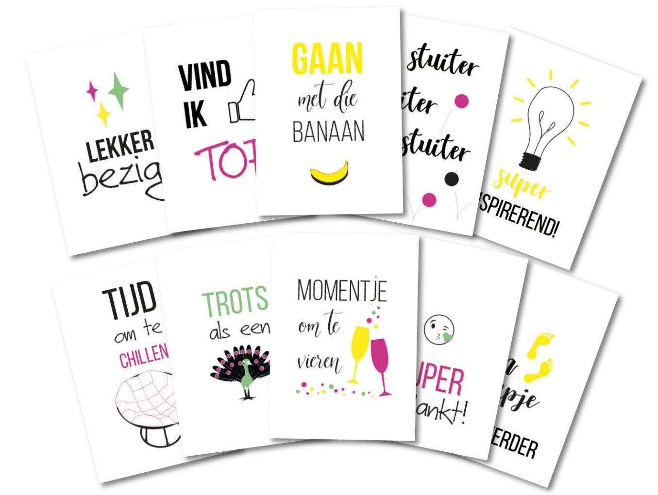 Social Media Kaarten
