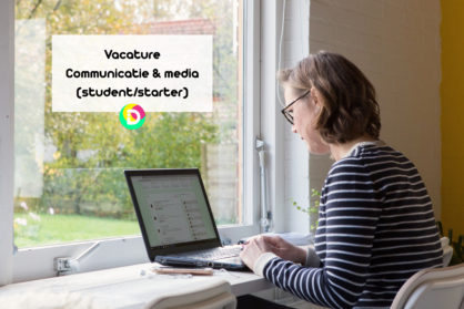 Vacature Communicatie en Media (student/starter)