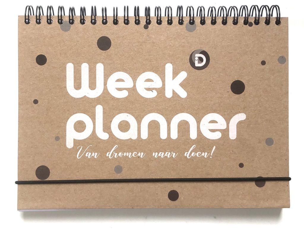 Weekplanner Van dromen naar doen