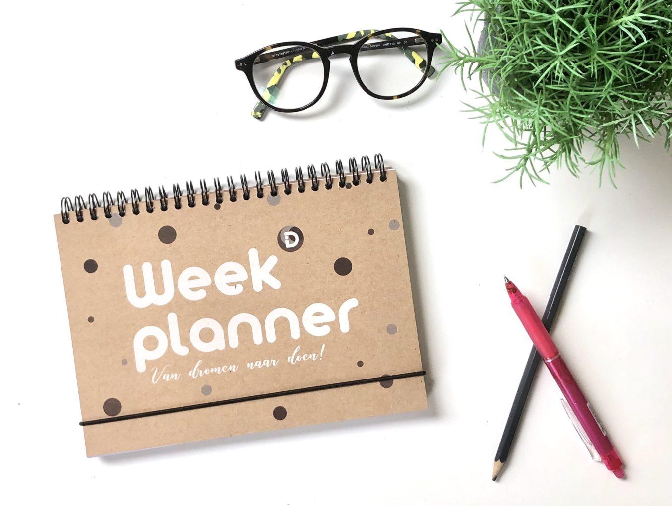 Weekplanner voor focus, overzicht en balans