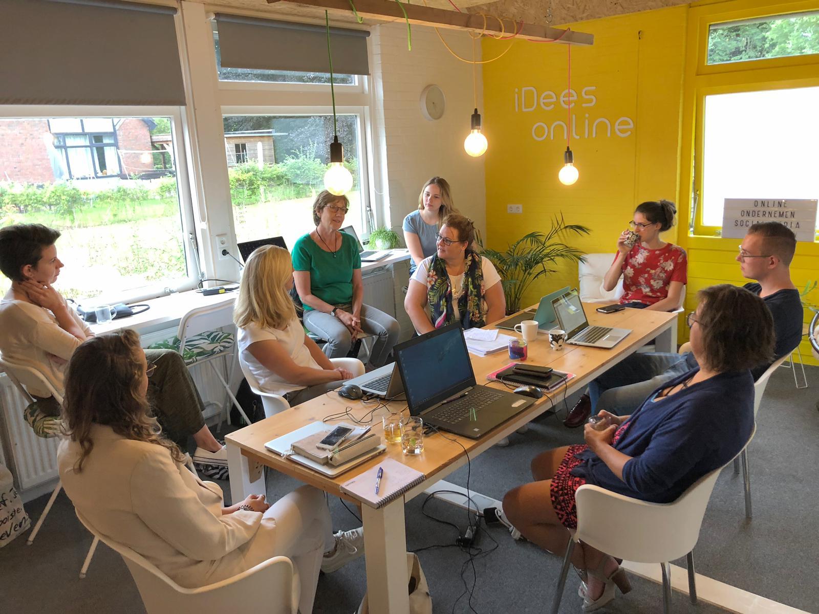 Samenwerkdag iDees online