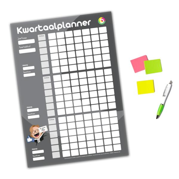 Kwartaalplanner poster iDeesonline webshop - kopie
