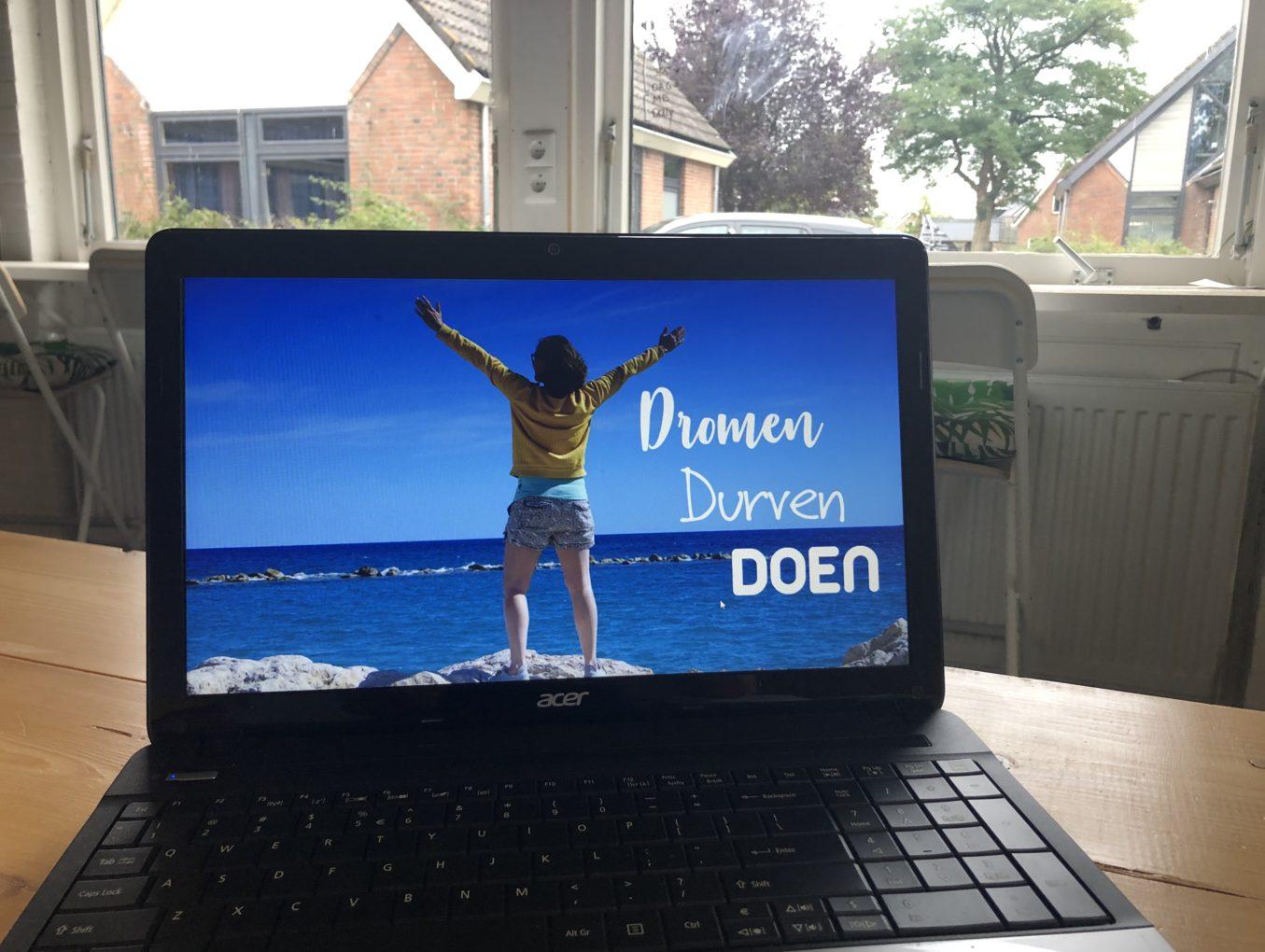 Online Workshop: Dromen, durven, DOEN!