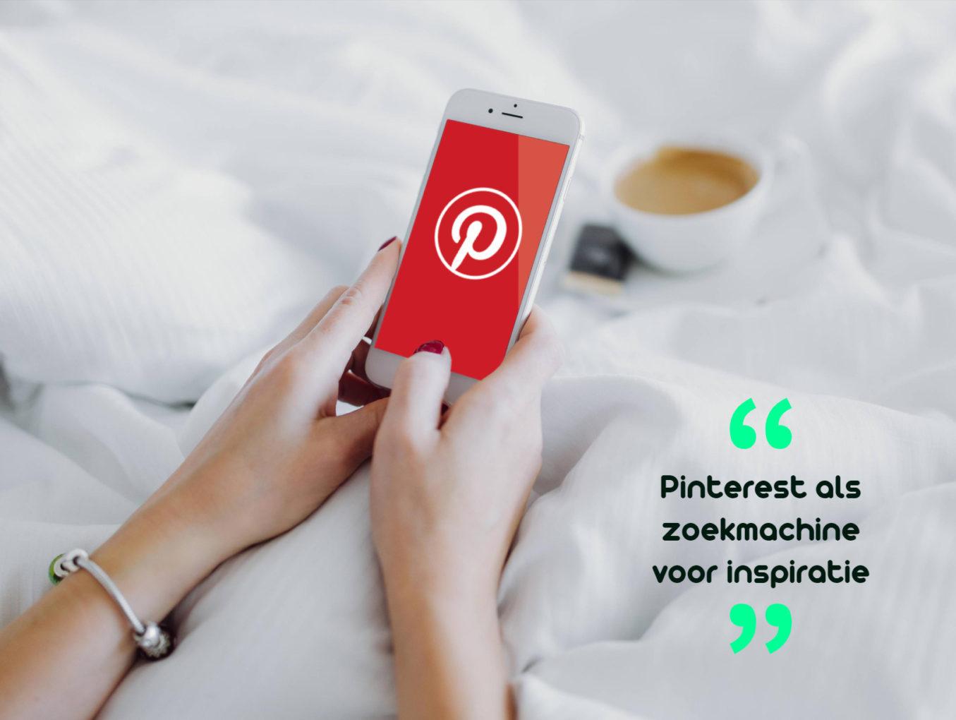 Pinterest als zoekmachine voor inspiratie