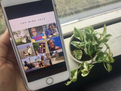 Zo maak en deel jij je best nine 2020 op Instagram