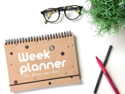 Weekplanner voor ondernemers: van dromen naar doen!